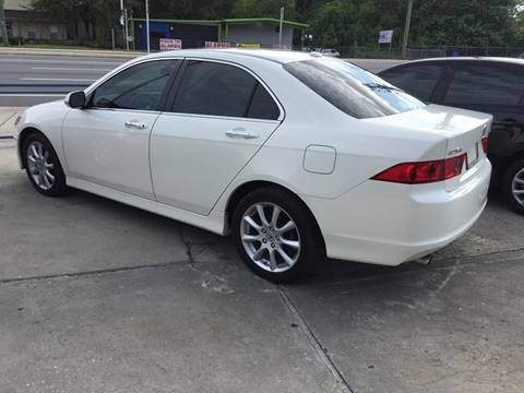 2008 Acura TSX for sale at Performance Autoworks in Tampa FL