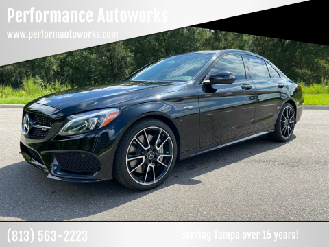 2017 Mercedes-Benz C-Class for sale at Performance Autoworks in Tampa FL