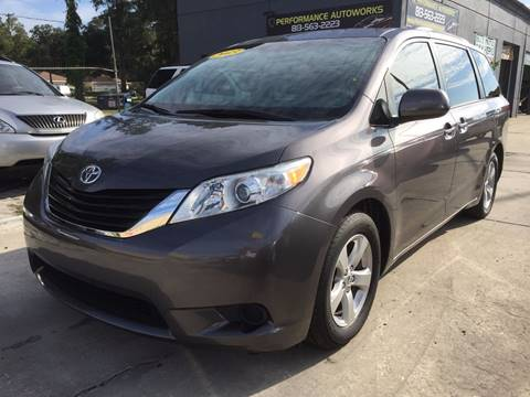 2013 Toyota Sienna for sale at Performance Autoworks in Tampa FL