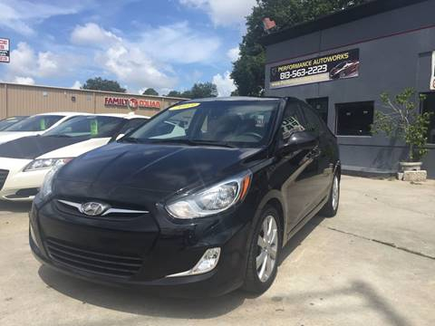 2013 Hyundai Accent for sale at Performance Autoworks in Tampa FL