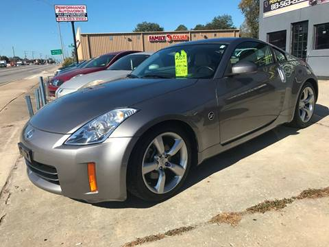 2008 Nissan 350Z for sale at Performance Autoworks in Tampa FL