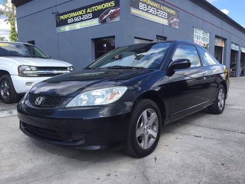 2004 Honda Civic for sale at Performance Autoworks in Tampa FL
