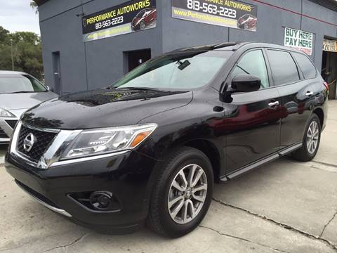 2014 Nissan Pathfinder for sale at Performance Autoworks in Tampa FL