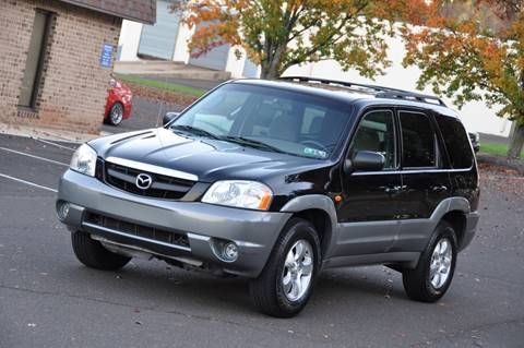 2002 Mazda Tribute for sale at T CAR CARE INC in Philadelphia PA