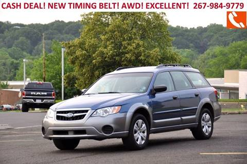 2008 Subaru Outback for sale at T CAR CARE INC in Philadelphia PA