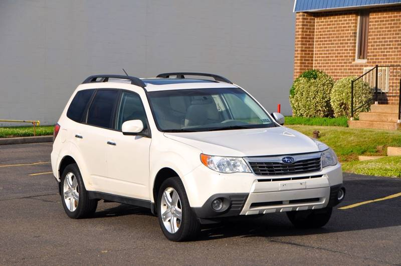 2009 subaru forester awd 2 5 x limited 4dr wagon 4a w navigation in philadelphia pa t car care inc. Black Bedroom Furniture Sets. Home Design Ideas