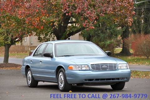 2001 Ford Crown Victoria for sale at T CAR CARE INC in Philadelphia PA