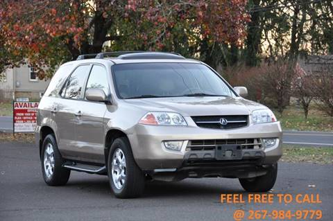 2001 Acura MDX for sale at T CAR CARE INC in Philadelphia PA