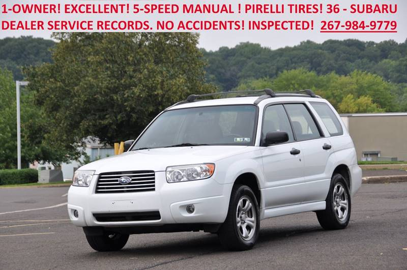 Subaru Forester AWD X Dr Wagon WManual In Philadelphia - Subaru dealers philadelphia area
