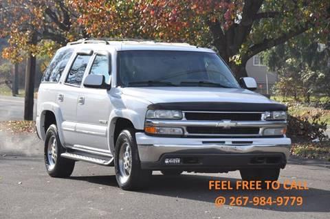 2002 Chevrolet Tahoe for sale at T CAR CARE INC in Philadelphia PA