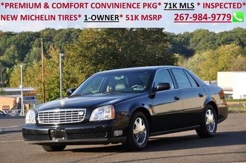 2005 Cadillac DeVille for sale at T CAR CARE INC in Philadelphia PA