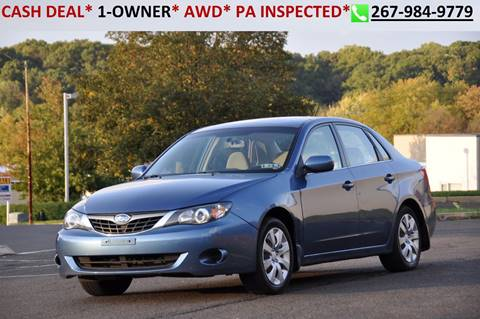 2009 Subaru Impreza for sale in Philadelphia, PA