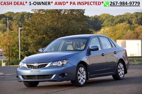 2009 Subaru Impreza for sale at T CAR CARE INC in Philadelphia PA