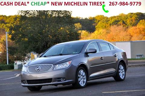 2010 Buick LaCrosse for sale at T CAR CARE INC in Philadelphia PA