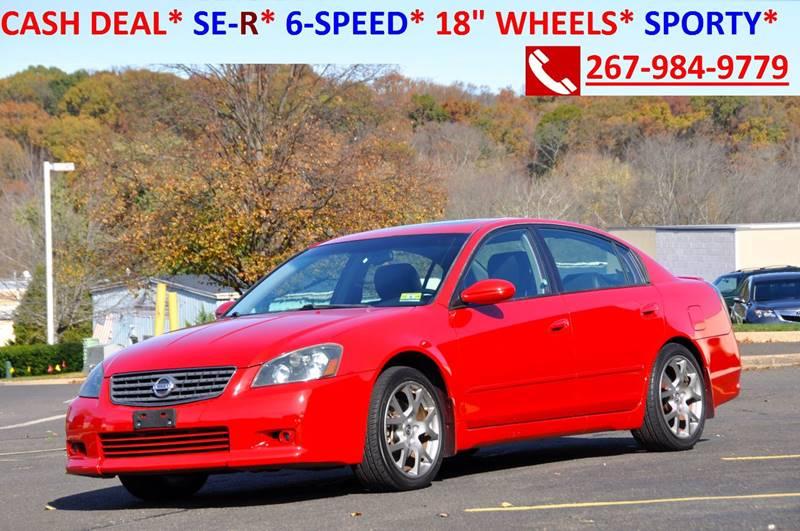 2005 Nissan Altima 35 Se R 4dr Sedan In Philadelphia Pa T Car