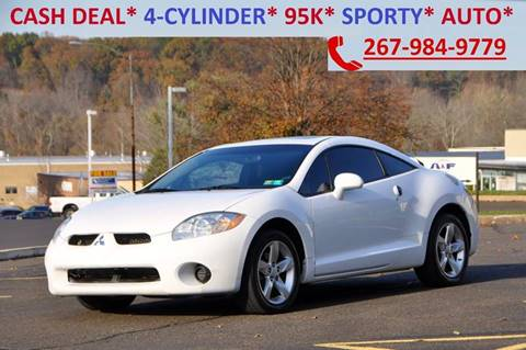 2008 Mitsubishi Eclipse for sale at T CAR CARE INC in Philadelphia PA