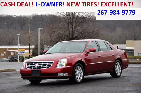 2008 Cadillac DTS for sale at T CAR CARE INC in Philadelphia PA