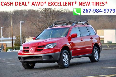 2004 Mitsubishi Outlander for sale at T CAR CARE INC in Philadelphia PA