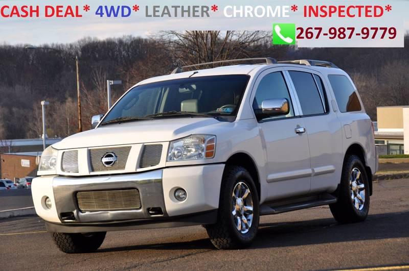 2004 Nissan Armada for sale at T CAR CARE INC in Philadelphia PA