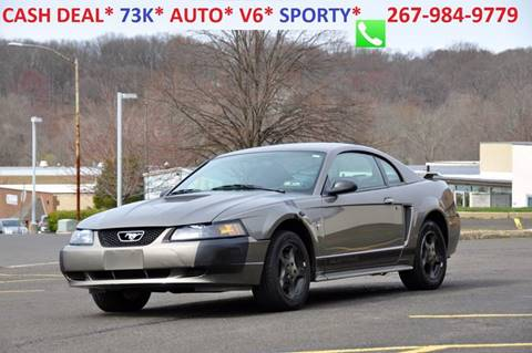 2002 Ford Mustang for sale at T CAR CARE INC in Philadelphia PA