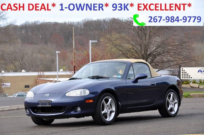 2002 Mazda MX-5 Miata for sale at T CAR CARE INC in Philadelphia PA