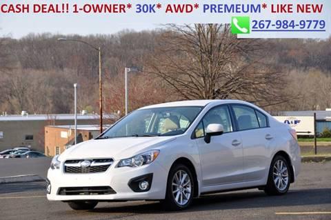 2014 Subaru Impreza for sale at T CAR CARE INC in Philadelphia PA