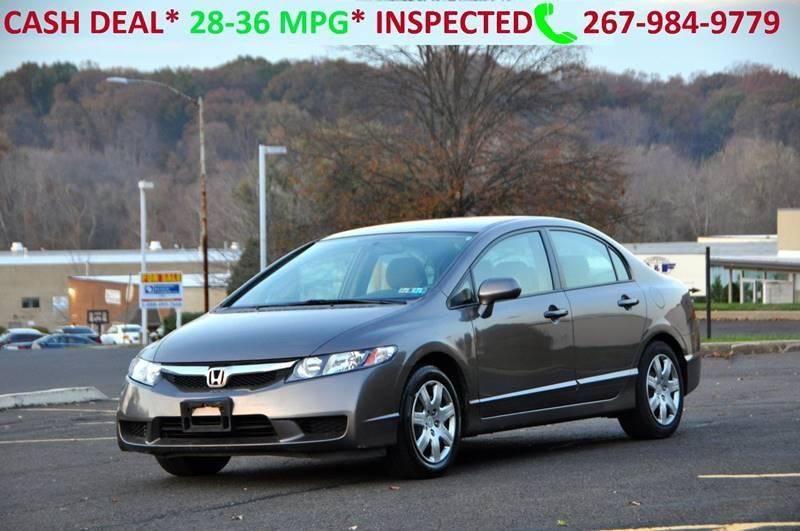 2010 Honda Civic LX 4dr Sedan 5A   Philadelphia PA