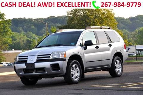 2004 Mitsubishi Endeavor for sale at T CAR CARE INC in Philadelphia PA