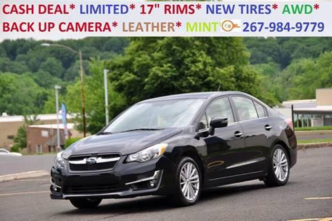 2015 Subaru Impreza for sale at T CAR CARE INC in Philadelphia PA