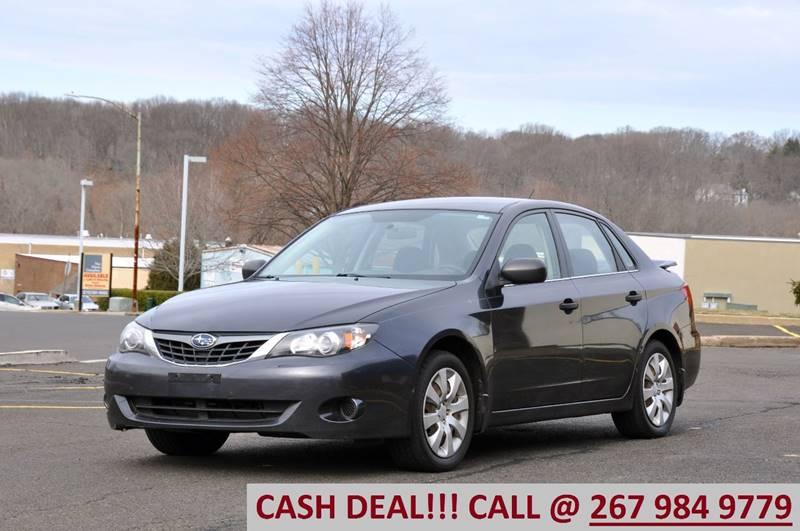2008 Subaru Impreza for sale at T CAR CARE INC in Philadelphia PA