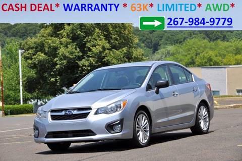 2013 Subaru Impreza for sale at T CAR CARE INC in Philadelphia PA