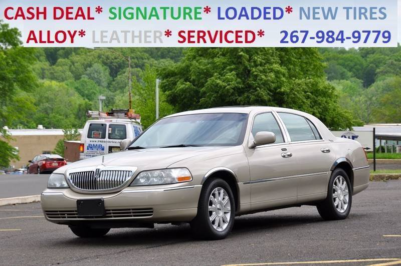2006 Lincoln Town Car Signature Limited 4dr Sedan In Philadelphia Pa