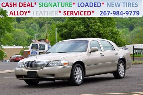 2006 Lincoln Town Car for sale at T CAR CARE INC in Philadelphia PA