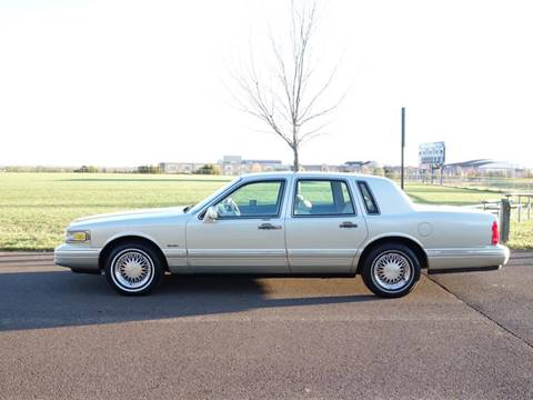 1997 Lincoln Town Car for sale at T CAR CARE INC in Philadelphia PA