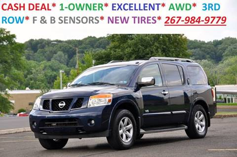2008 Nissan Armada for sale at T CAR CARE INC in Philadelphia PA