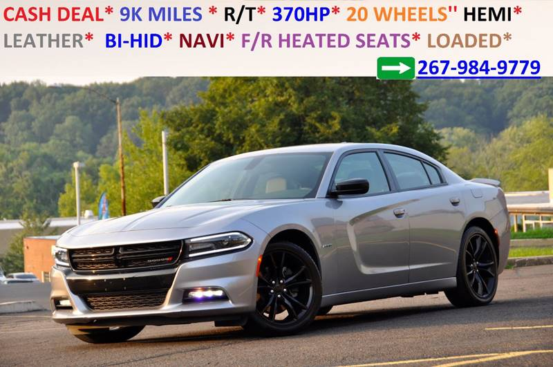 2016 Dodge Charger for sale at T CAR CARE INC in Philadelphia PA
