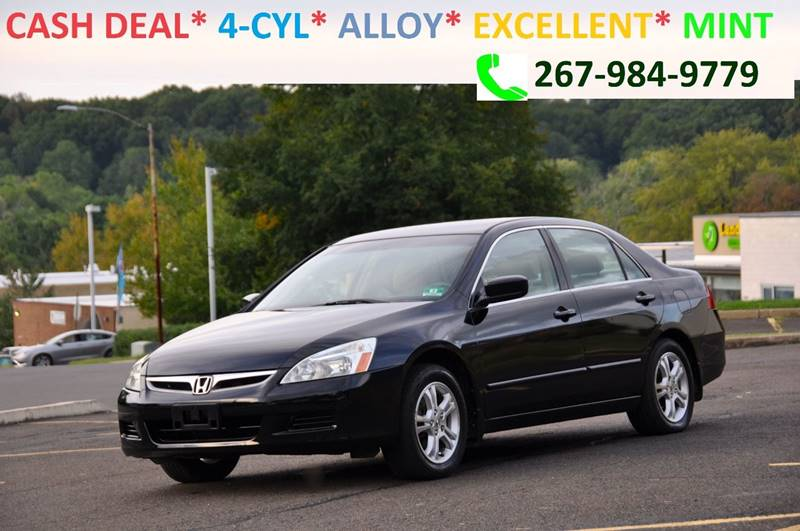 2006 Honda Accord Sedan >> 2006 Honda Accord Lx Special Edition 4dr Sedan 5a In
