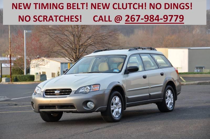 2005 Subaru Outback for sale at T CAR CARE INC in Philadelphia PA