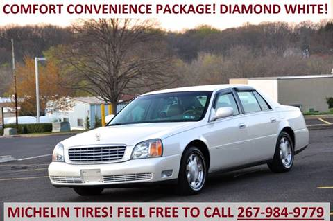 2002 Cadillac DeVille for sale at T CAR CARE INC in Philadelphia PA
