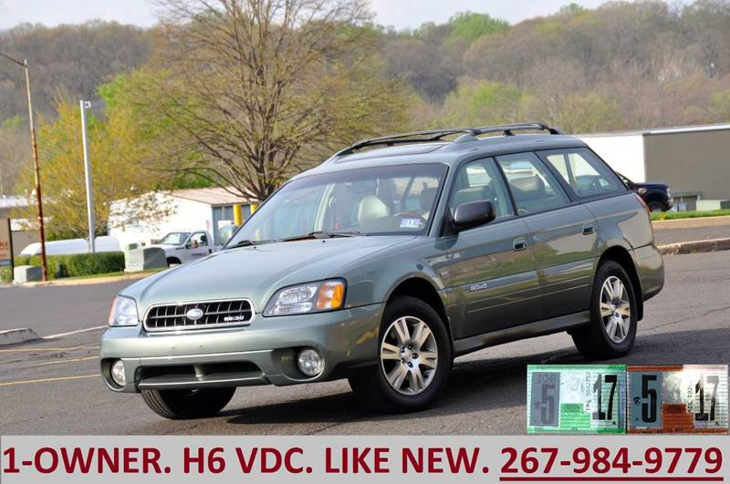 2004 Subaru Outback for sale at T CAR CARE INC in Philadelphia PA