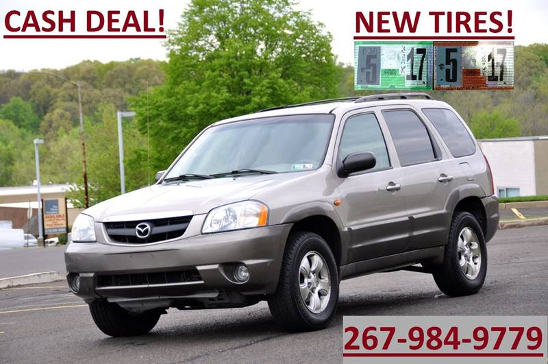 2001 mazda tribute lx v6 4wd 4dr suv in philadelphia pa t car care inc. Black Bedroom Furniture Sets. Home Design Ideas
