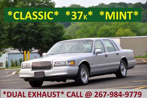 1995 Lincoln Town Car for sale at T CAR CARE INC in Philadelphia PA