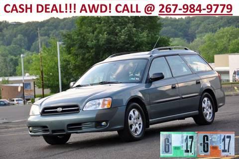 2001 Subaru Legacy for sale at T CAR CARE INC in Philadelphia PA