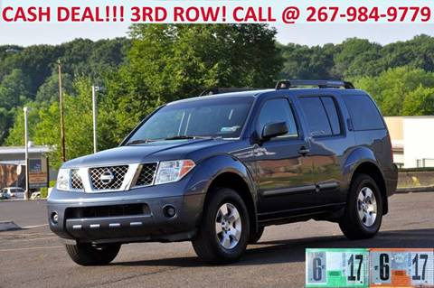 2006 Nissan Pathfinder for sale at T CAR CARE INC in Philadelphia PA