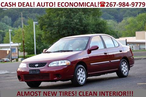2002 Nissan Sentra for sale at T CAR CARE INC in Philadelphia PA