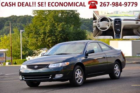 2000 Toyota Camry Solara for sale at T CAR CARE INC in Philadelphia PA