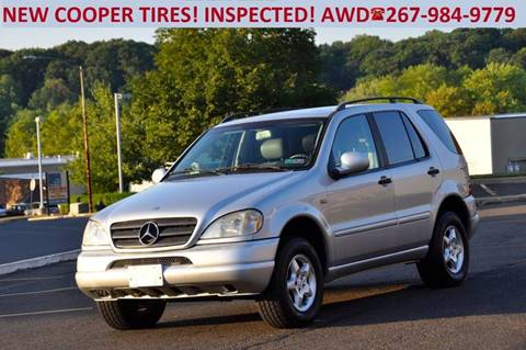 2000 Mercedes-Benz M-Class for sale at T CAR CARE INC in Philadelphia PA