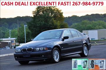 2002 BMW 5 Series for sale at T CAR CARE INC in Philadelphia PA