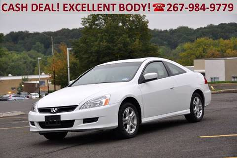 2007 Honda Accord for sale at T CAR CARE INC in Philadelphia PA