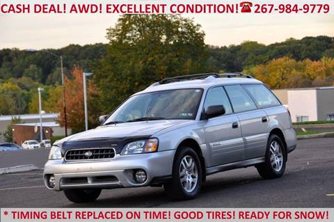2004 Subaru Outback for sale at T CAR CARE INC in Philadelphia PA